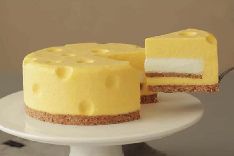 Heston Blumenthal and Cheesecake With Emmental