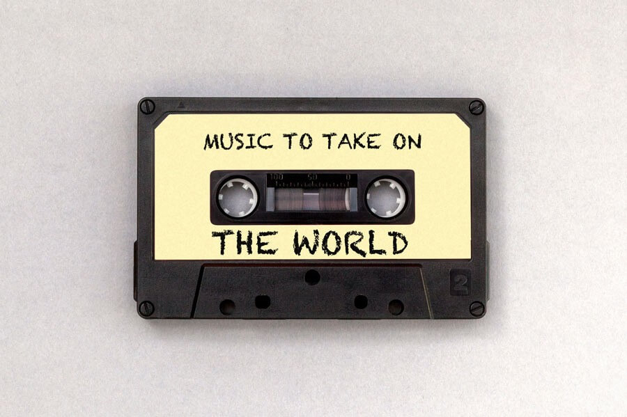 Music to take on the world